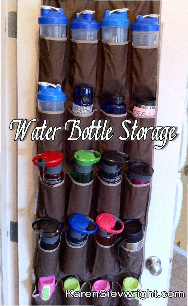 Lori Bearden Roberts Knoebel Water Bottle Storage