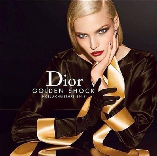 Dior Beauty Christmas 2014 | Sasha Luss