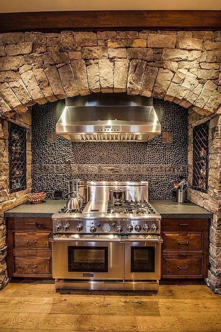 95 Amazing Rustic Kitchen Design Ideas Landhaus Dekor Luxus
