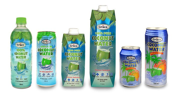 Coconut Water Coconut water drinks, Coconut