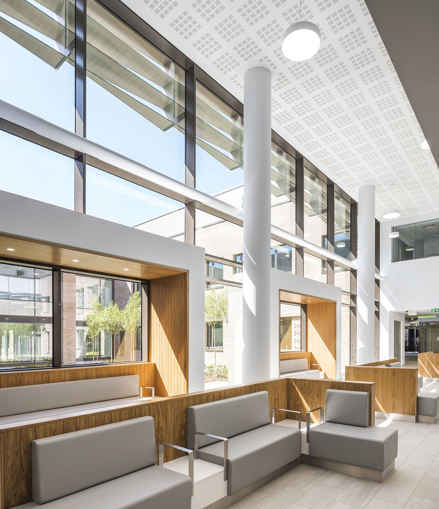 Omagh Hospital & Primary Care Complex designed by TODD
