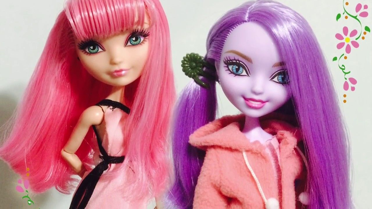 How to Fix / Wash Greasy Sticky Doll Hair Tutorial ...
