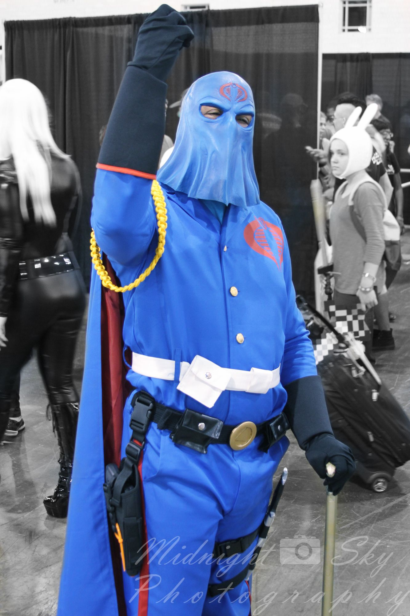 Cobra Commander from GI Joe cosplay -- Philly Wizard World Comic ...
