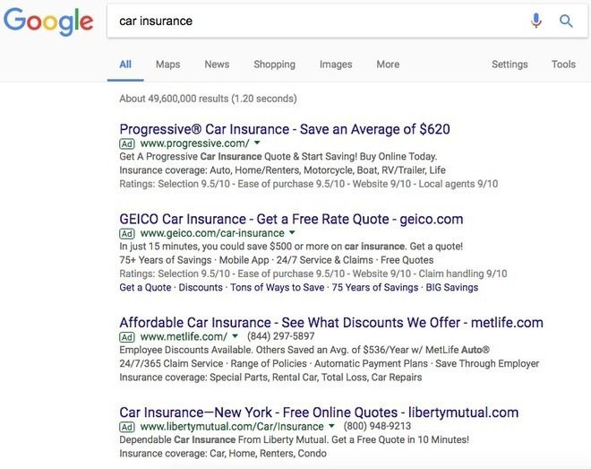 Www Geico Com Quote Classy Google Adwords The Beginner's Guide