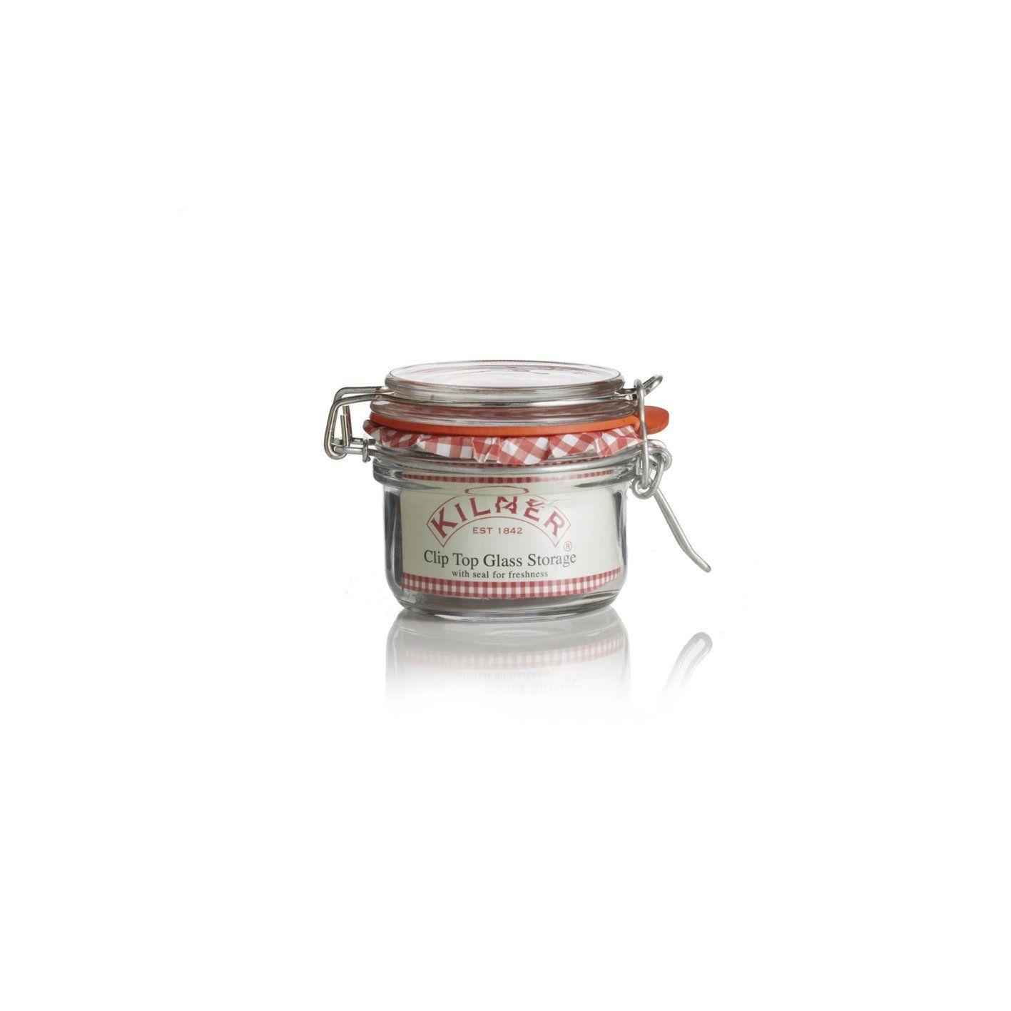 12 Clip Top Kilner Jam, Chutney Or Preserve Jars 125Ml Amazon