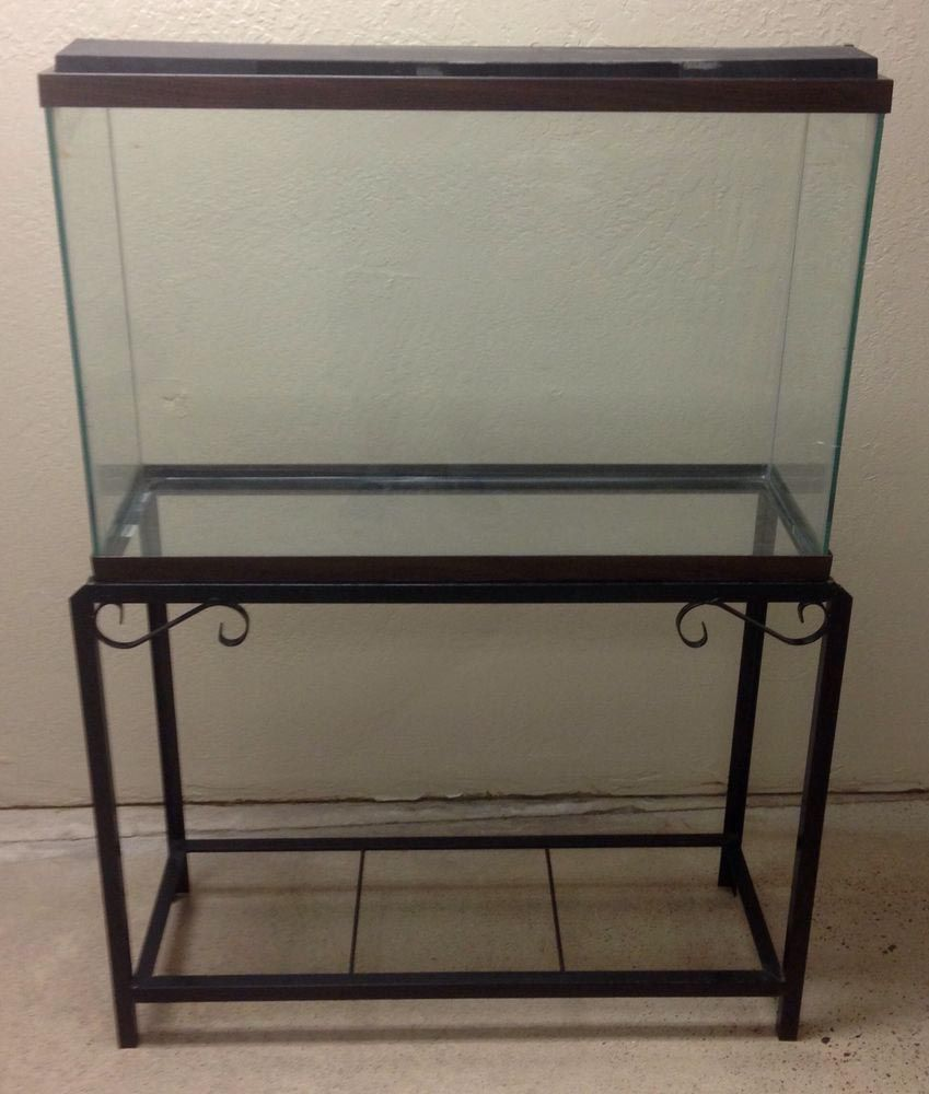40 Gallon Glass Aquarium | Aquarium Ideas | Glass aquarium