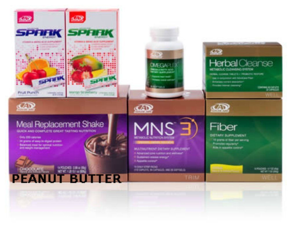 Advocare products cost - Advocare 24 Day Challenge Chocolate Peanut Butter Spark Mns 3 Herbal Cleanse