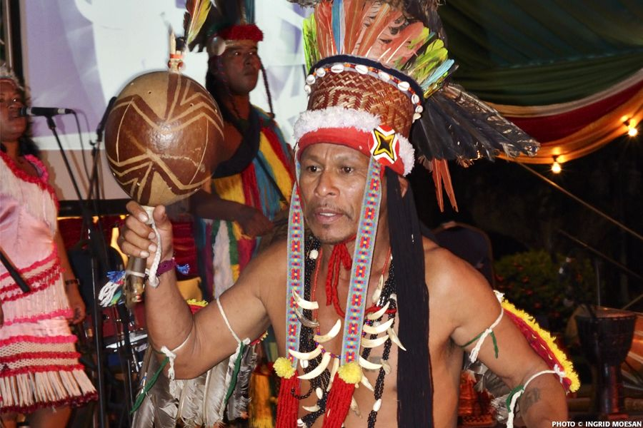 Native day in Suriname(Indians)