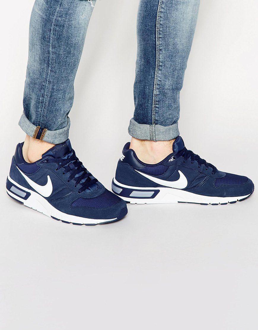 Image 1 of Nike Nightgazer Trainers 644402-411