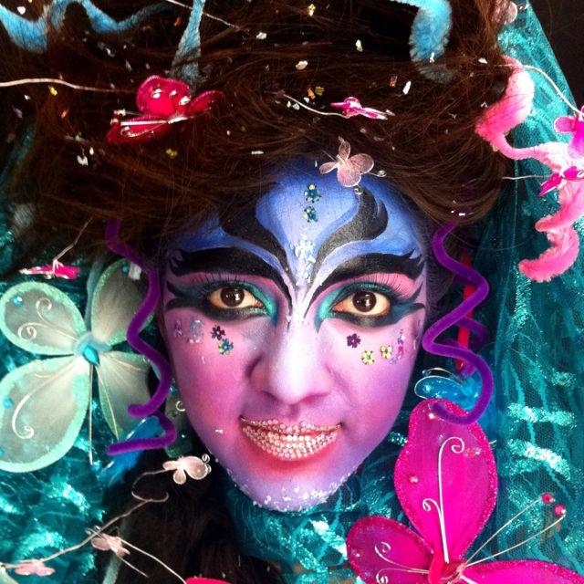 Fantasy Make Up Schminken Carnaval Make Up