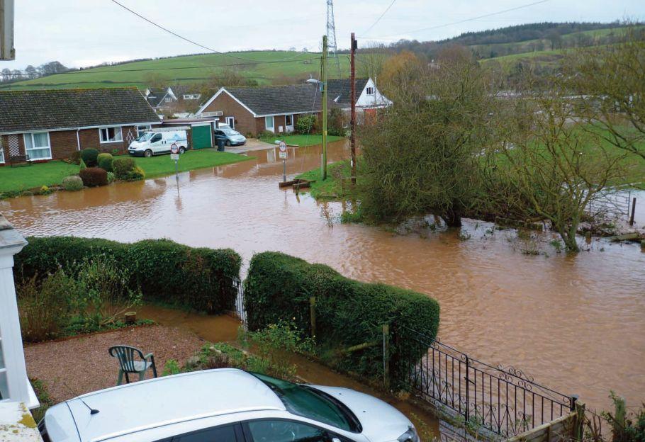 flooding in Ramsey, Isle of Man Dec 2012   photo by Peter Brady