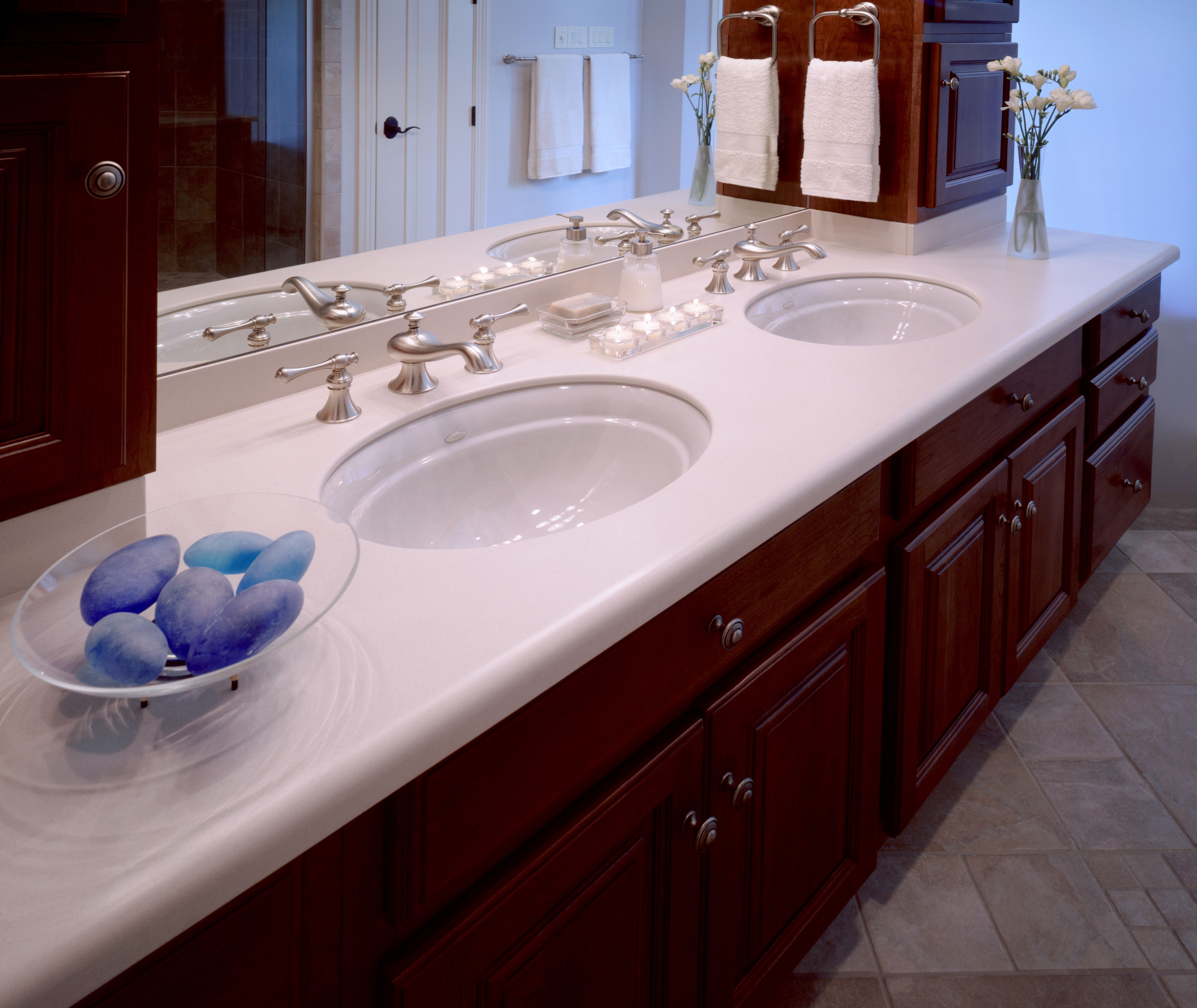 the integrated Corian sink we are getting with our Corian ...