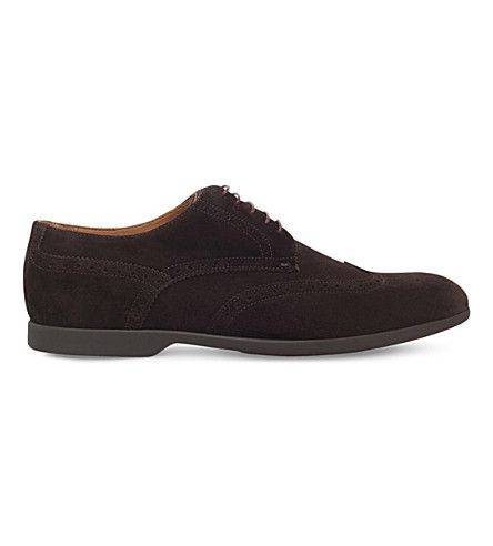 PAUL SMITH Ryan Rs Wc Suede Derby Brogues. #paulsmith #shoes #shoes