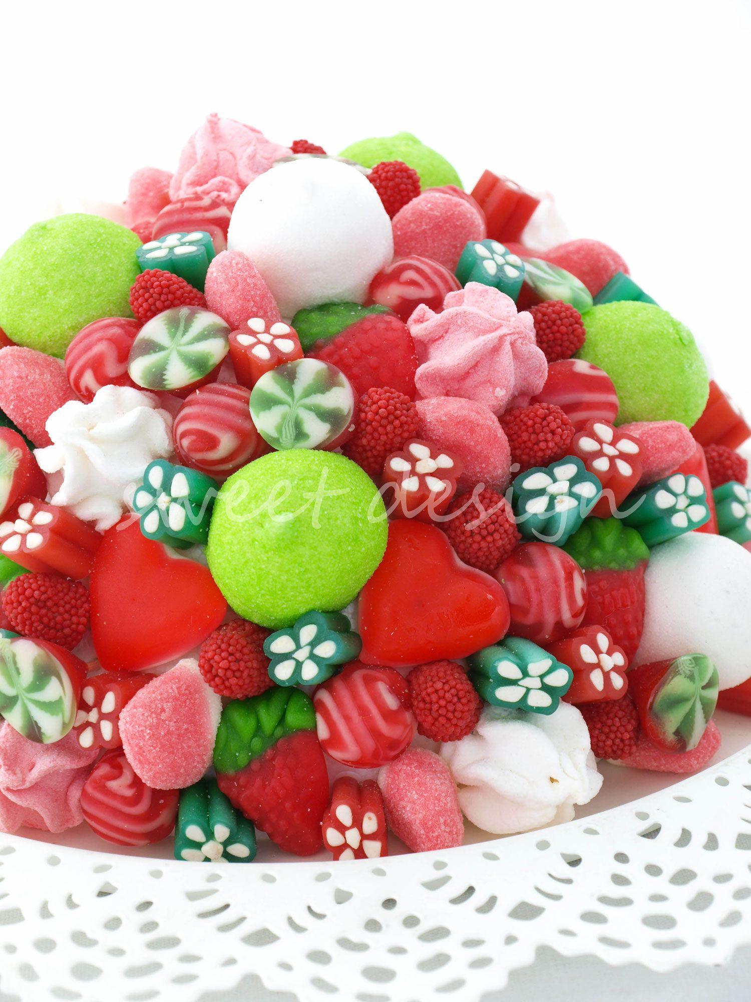 Bouquet rojo verde blanco ideas para adornar la mesa - Adornar mesa de navidad ...