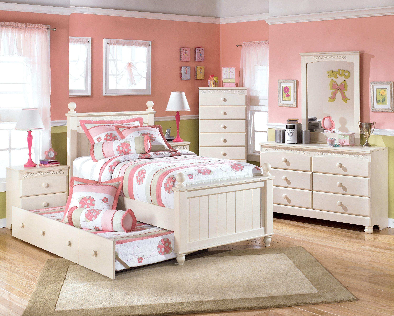 Bedroom Sets For Kids White Table Lamp Above Black Drawer Bedside