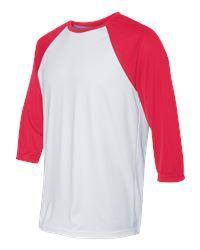 Alo Sport   Baseball T Shirt $13.90/ea | Americana Sportswear M3229  Americana Sportswear