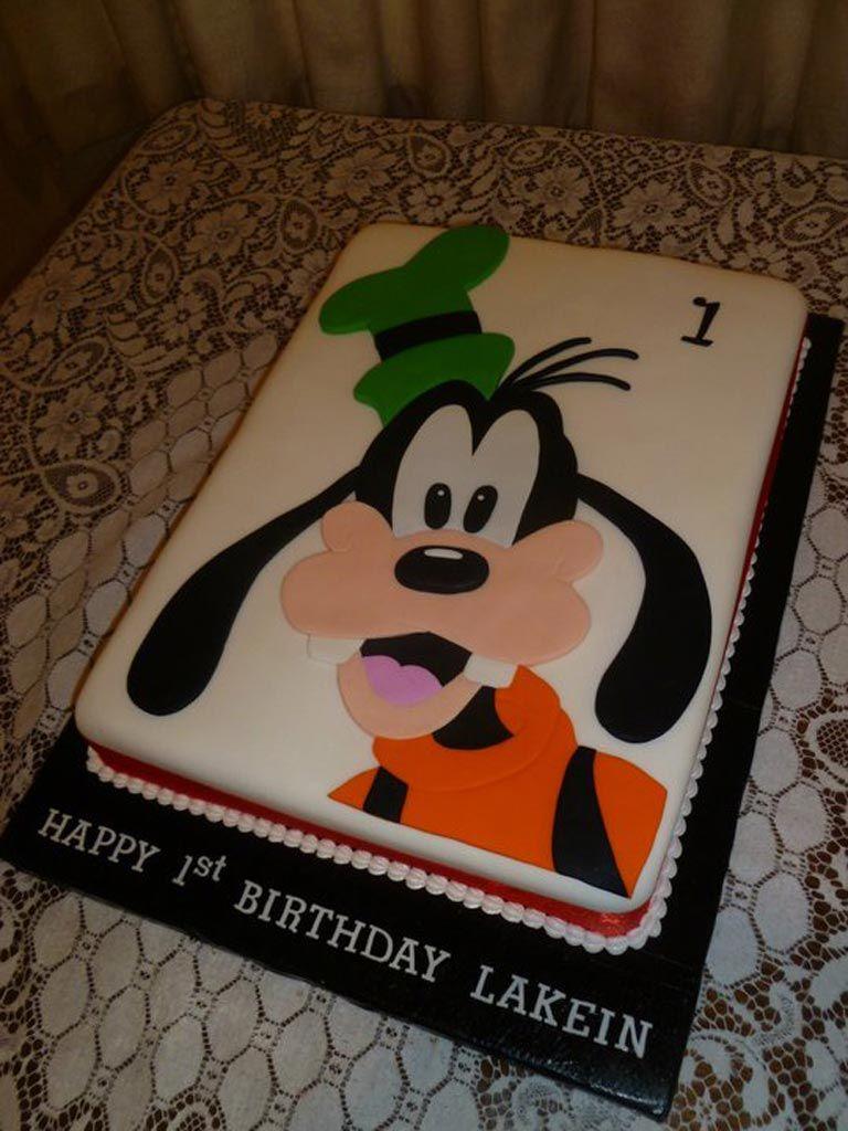 Goofy Cake 50 Serves 190 Cakepins Com Cakes En 2019