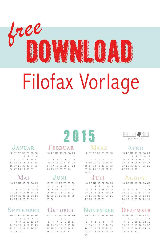 Frühjahrsputz Tag 13: Filofax | Filofax, Ausdrucken und Kostenlos