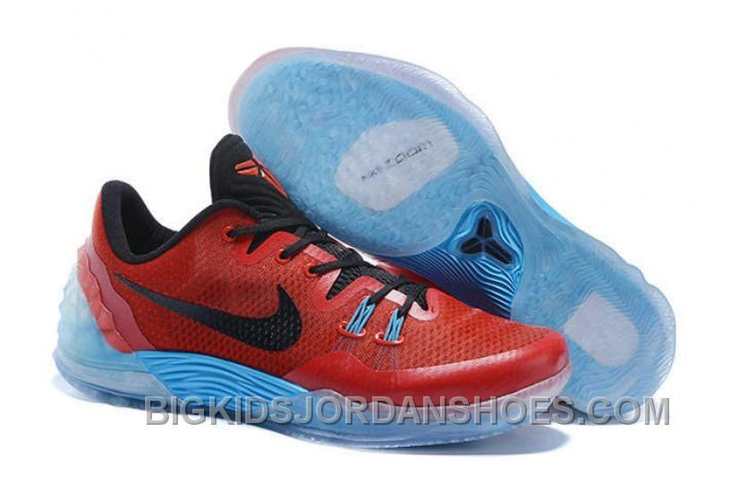 f850b081aa6d Discount Cheap Nike Zoom Kobe Venomenon 5 Red Black Soft Blue ...