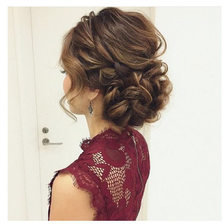 Evening updo – Hairstyle Women / Pinterest