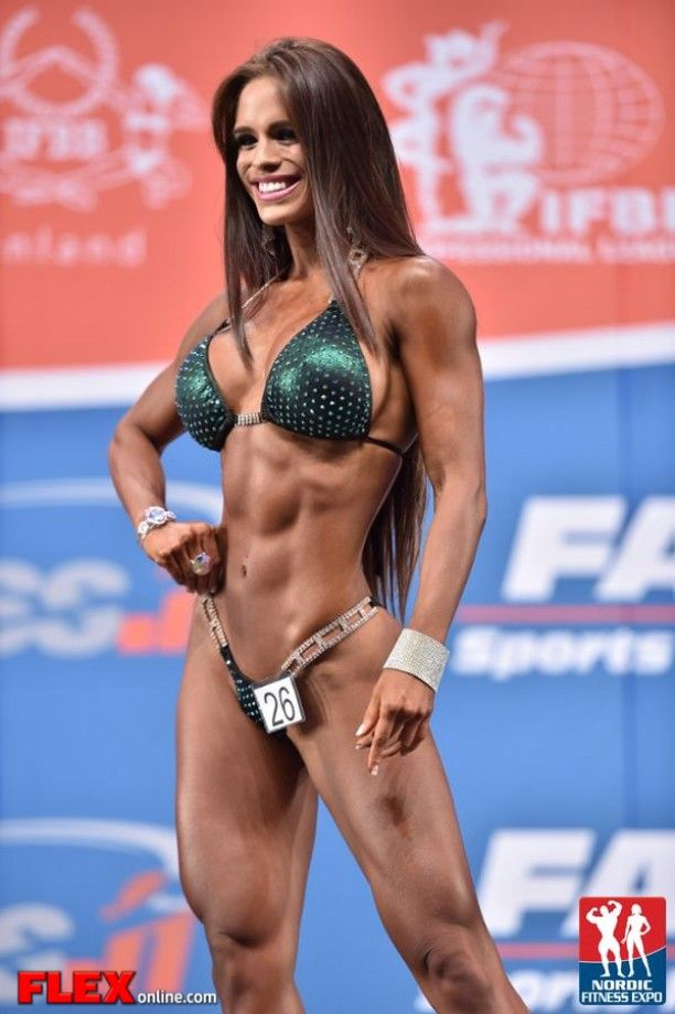 e4f6d3f670c COMPETITION-READY SHREDDED PHYSIQUE of exotic Venezuelan  Fitness model  Michelle… Frank Zane
