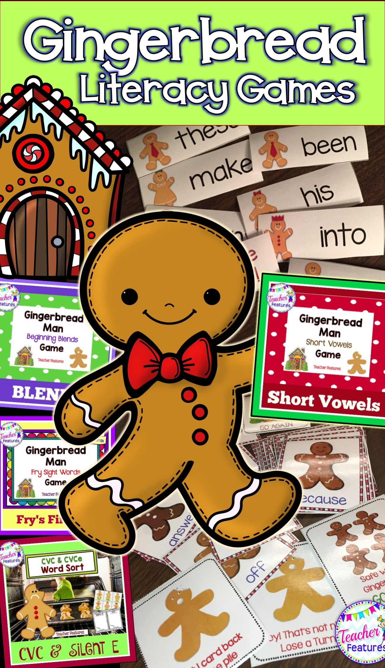Loads Of Gingerbread Man Themed Literacy Activities And