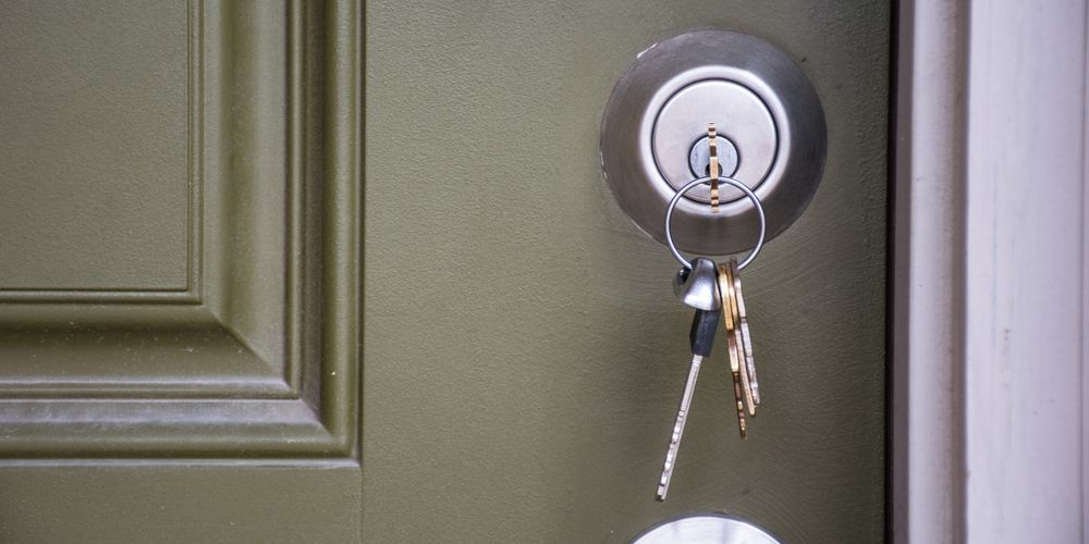 6 Types Of Door Locks Commonly Used On Residential Properties Learn More About The Door Lock Types Used On Residential Propert Home Security Types Of Doors