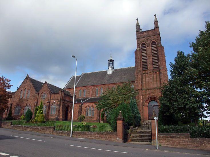 Catholic Church In Coatbridge North Lanarkshire Scottish Churches Org Coatbridge Catholic Church Church