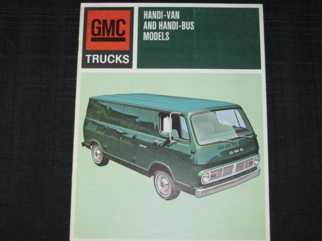 95054710a52af8 1967 GMC Handi-Van Bus Catalog Sales Brochure