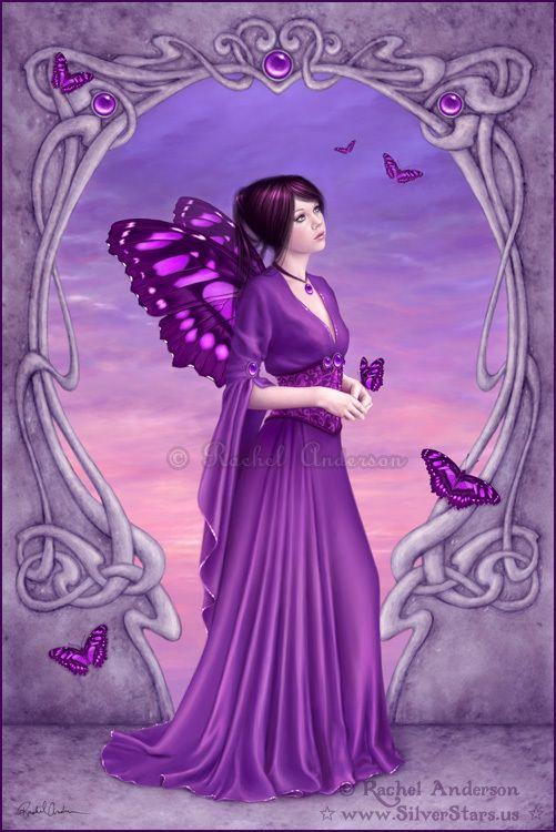 Aquarius Photo: Amethyst - February birthstone | Fairy pictures, Beautiful  fairies, Fantasy art