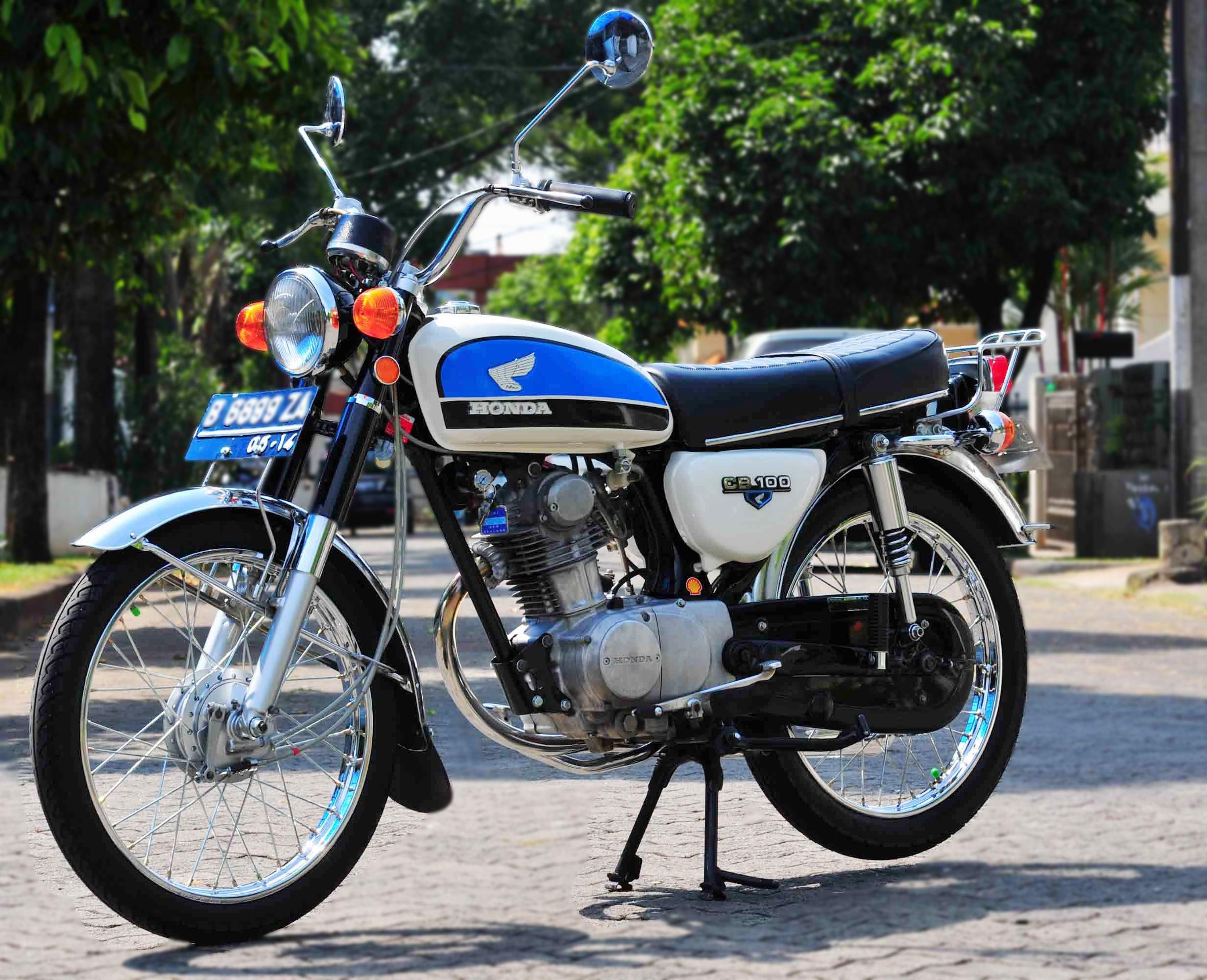 Modifikasi Motor Honda cb 100 Honda cb 100, Vintage
