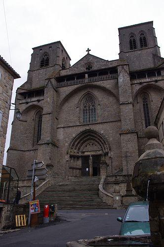 La Chaise Dieu Haute Loire Abbatiale Saint Robert Auvergne France Travel