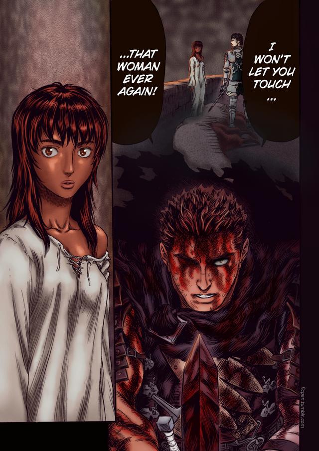 Back From Coloring Hiatus With Protective Guts Guildofthefalcon Berserk Old School Cartoons Manga