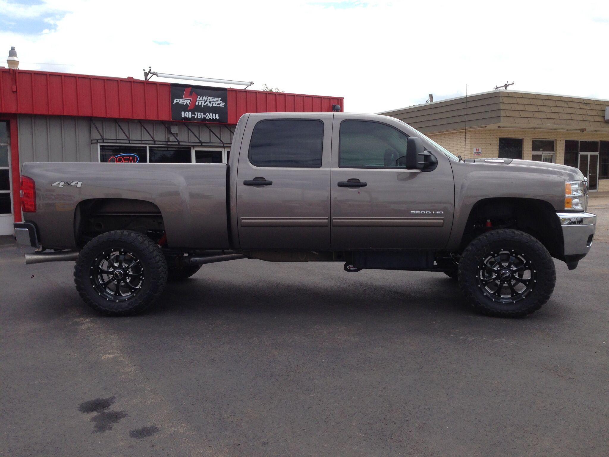 2010 chevy 2500hd 4 rancho lift 20 bmf wheels 35x12 50r20