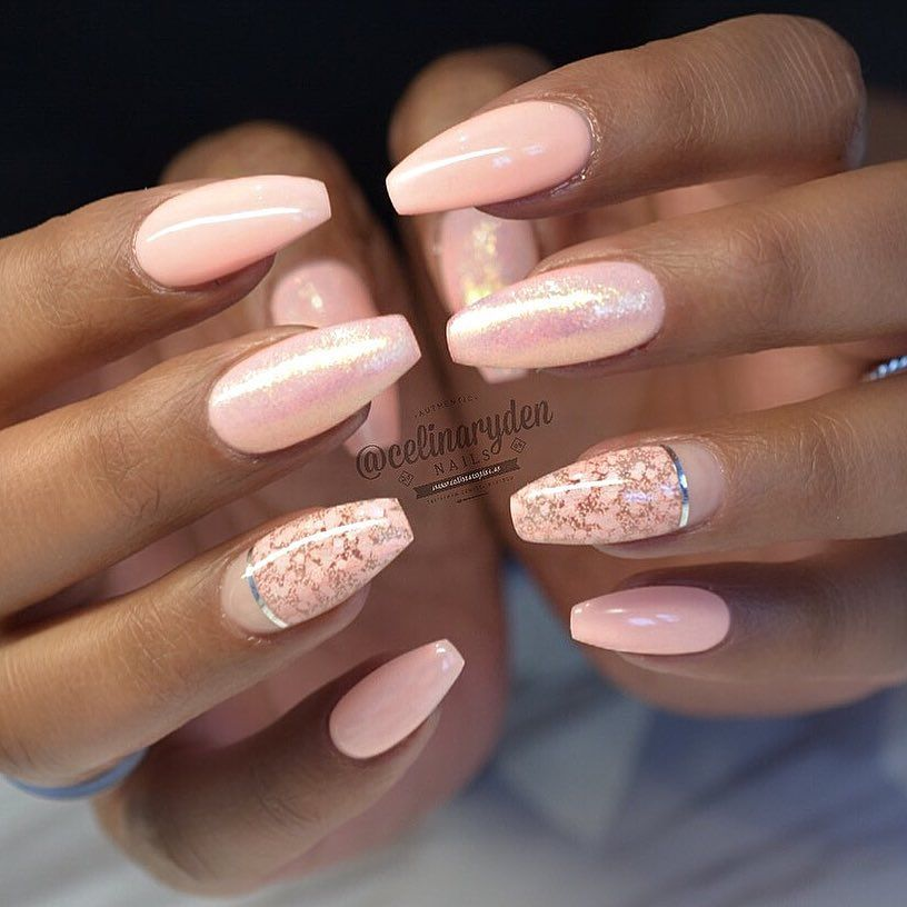 Wedding Nail Ideas For Summer: Ballerina Nails, Nail Designs