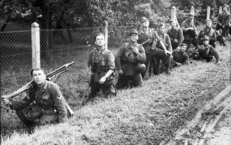 Image result for ww2 german soldiers in normandy