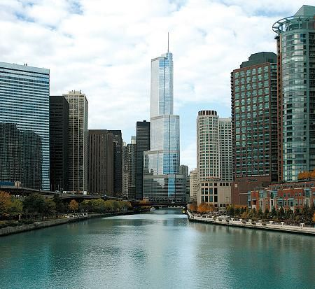 Trump Tower Chicago. #Downtown Chicago Luxury Condos