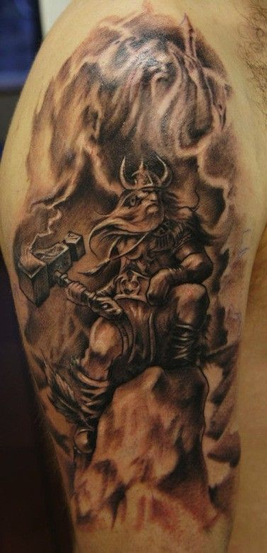 845b357e1 odin tattoo - Google Search | Cool tat ideas | Viking tattoos, Thor ...