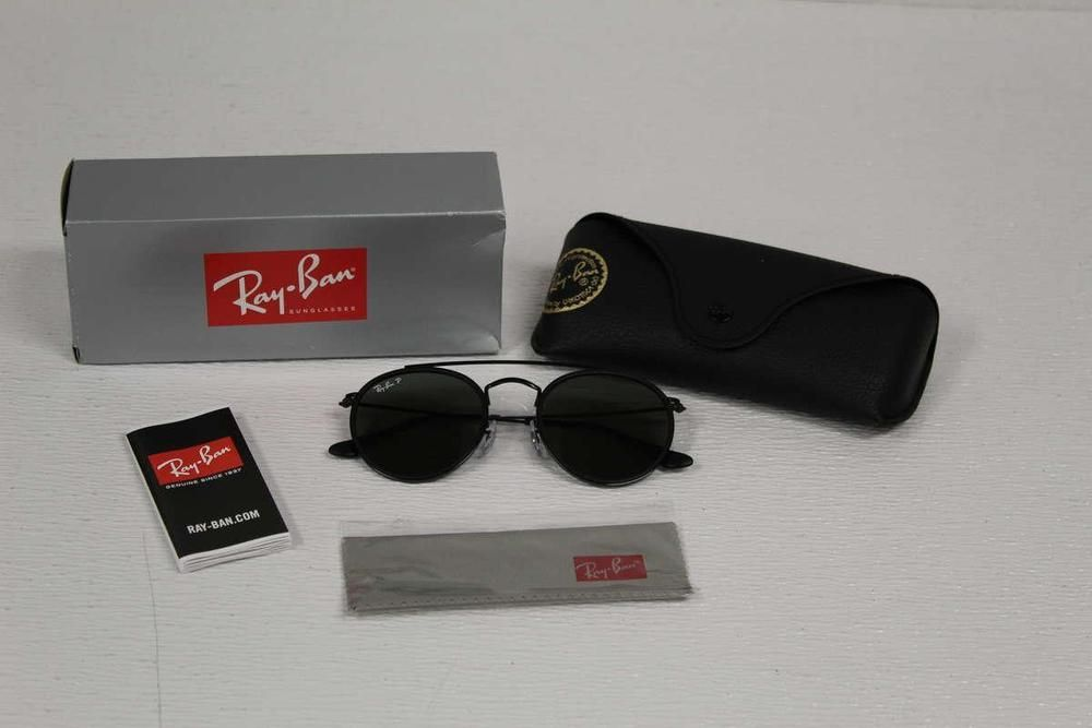 110bbd20886 Ray Ban Men s Sunglasses Polarized RB3647N 002 58 Black Green (eBay Link)