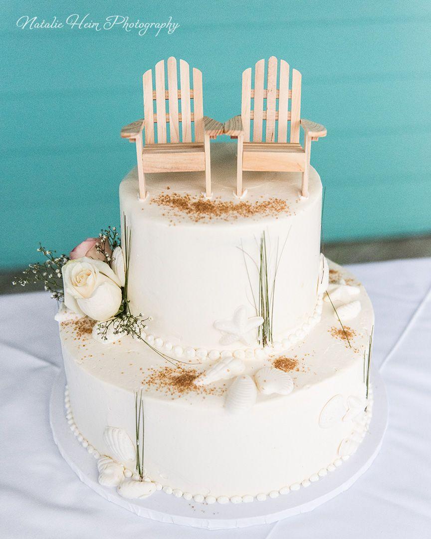 Beach Theme Wedding Cake Beach Chairs Cake Topper Www