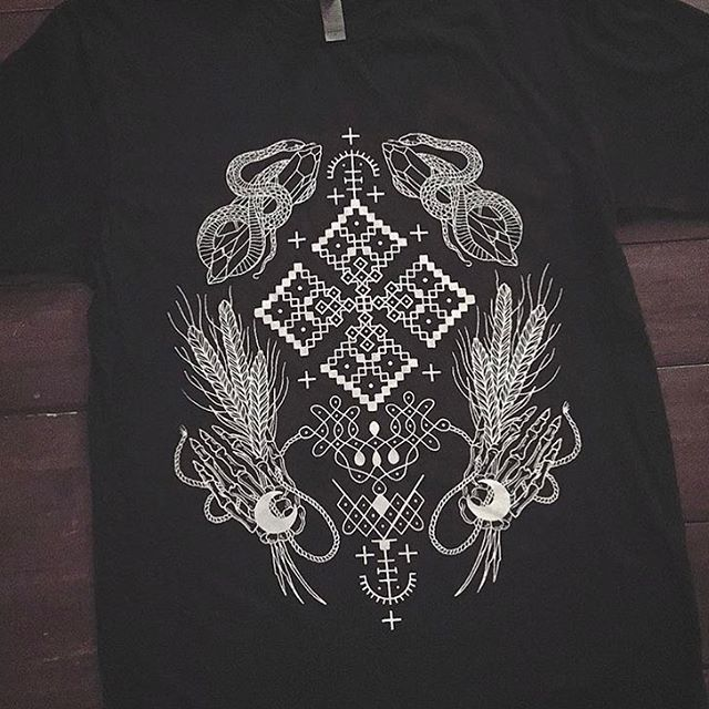 """128 Likes, 2 Comments - @black_iris_tattoo on Instagram: """"'Dusk Origins' T-shirt by @johno_tattooer *only available  in the shop for now #blacktattoo"""""""