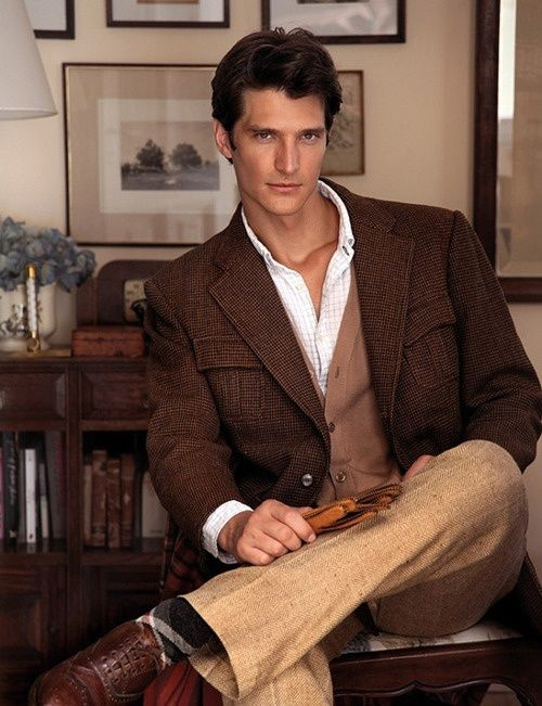 Brown tweed jacket   How to dress, My architect style   Pinterest ...