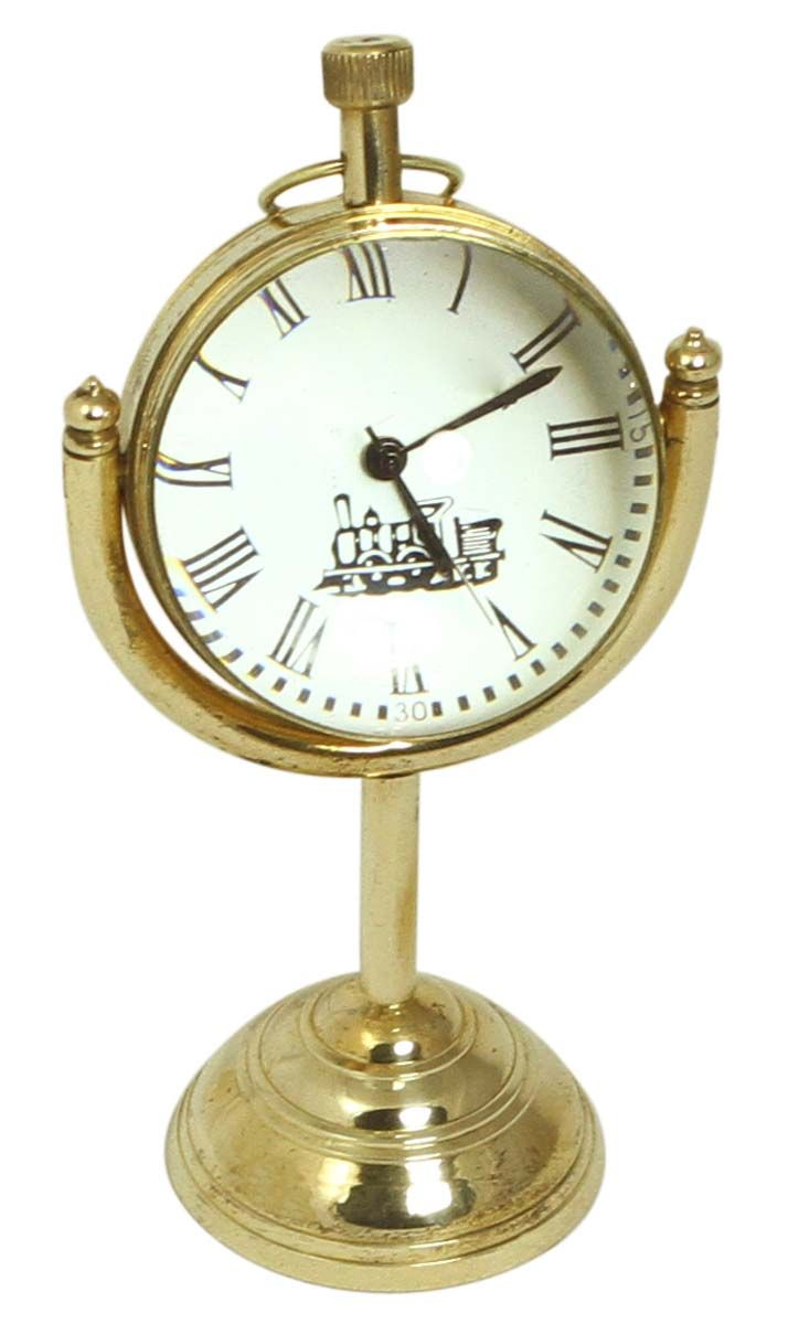 5 u201d marine table clock in brass u2013 antique look home décor
