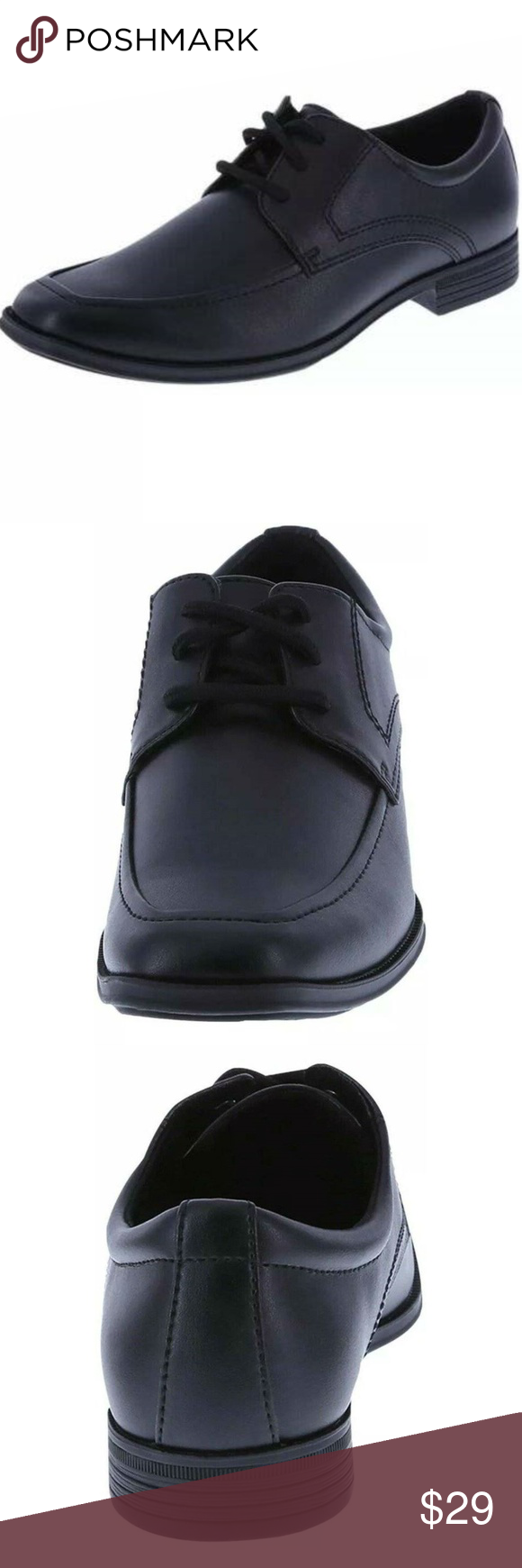 Boys Smartfit Black Habille Dress Moc Shoes Size 6 Reasonable Offers Accepted Boys Shoes Condition New With Tags Made By Sma Shoe Features Boys Shoes Shoes [ 1740 x 580 Pixel ]