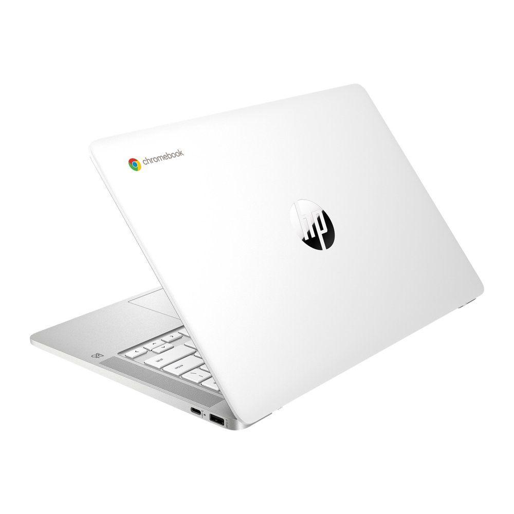Hp Chromebook 14 Inch Hd Laptop Intel Celeron N4000 4 Gb Ram 32 Gb Emmc Chrome 14a Na0020nr Ceramic White Walmart Com Hp Chromebook Chromebook Intel