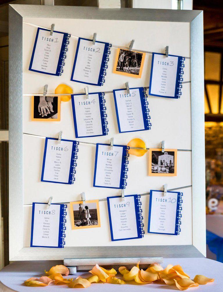 Sitzordnung Hochzeit – 30 kreative Ideen & Inspirationen für