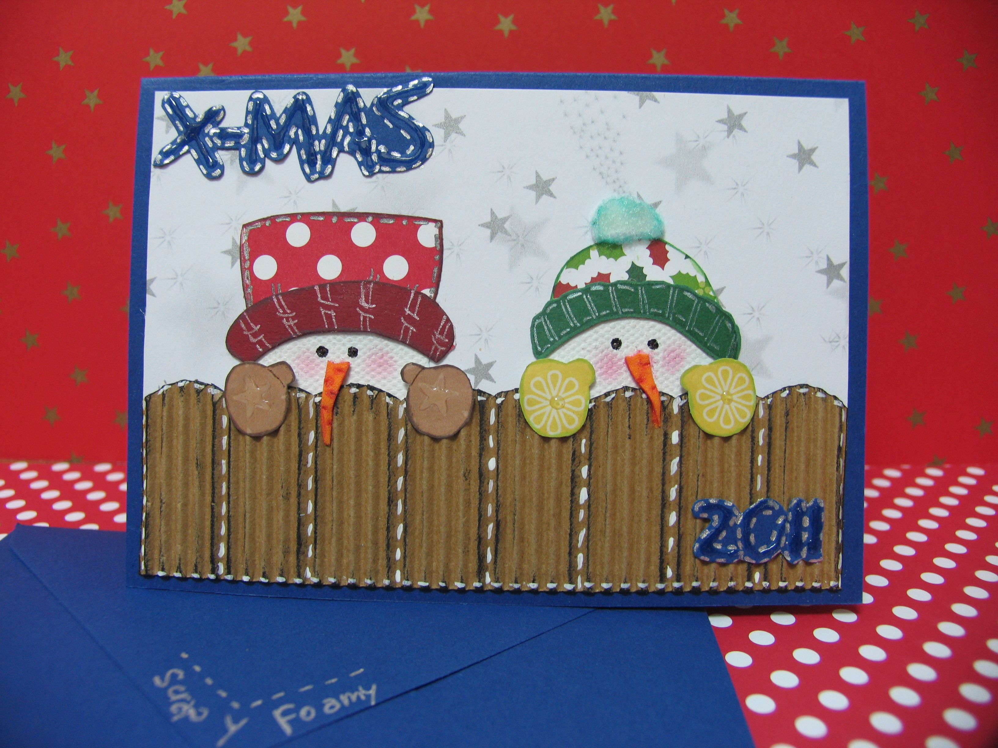 Navidad scrap y foamy p gina 2 navidad pinterest - Como hacer una felicitacion de navidad original ...