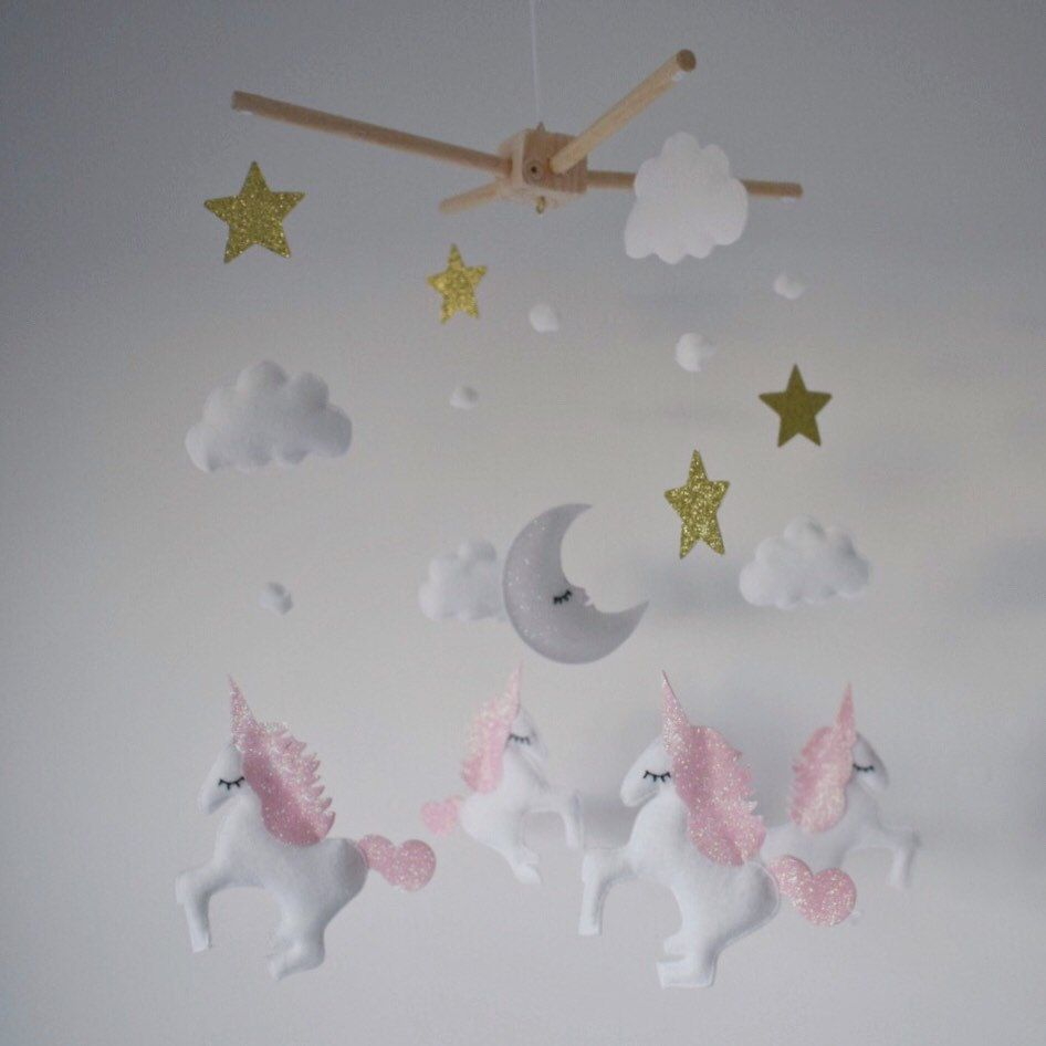 I Love Making These Unicorn Mobiles ⭐️⭐️ Pretty Pink And