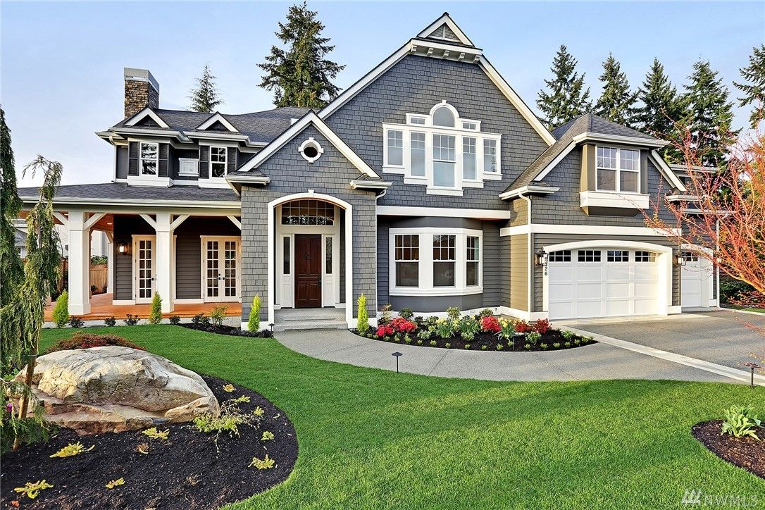 Nwmls Sold 4 Bed 4 25 Bath 5550 Sq Ft House Located At 9826 Ne 25th St Bellev Craftsman Style House Plans Craftsman House Plans House And Home Magazine