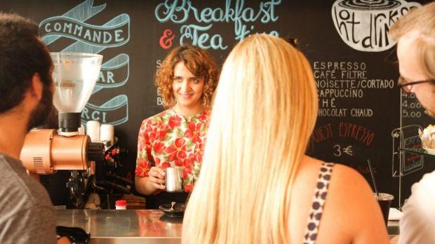 Ten Belles cafe, Paris.